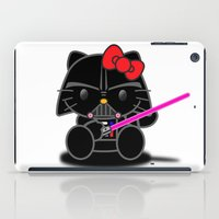 Dark Kitten iPad Case