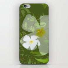 FRANGIPANNI iPhone & iPod Skin