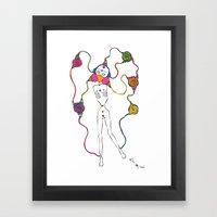 Connected 3 Framed Art Print