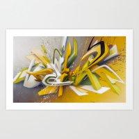 Auf Der Lauer - Explosio… Art Print