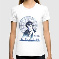 sherlock T-shirts featuring Sherlock by Jackie Sullivan