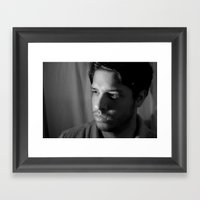 Spanish Stare Framed Art Print