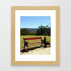 Soak up the Sun & the View Framed Art Print