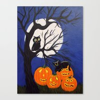 Halloween-3 Canvas Print