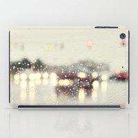 Driving In The Rain iPad Case