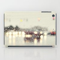 Driving In The Rain iPad Case