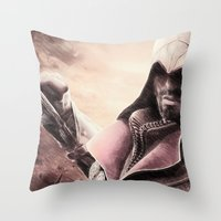 Ezio Auditore From Assas… Throw Pillow