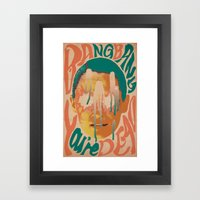 Bang Bang You're Dead Framed Art Print
