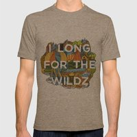 The Wildz Mens Fitted Tee Tri-Coffee SMALL