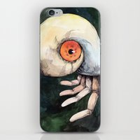 The keen finger iPhone & iPod Skin
