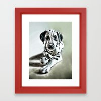 brothers in colors Framed Art Print