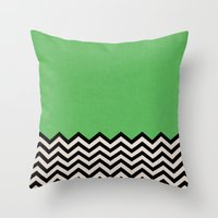 This Way Throw Pillow