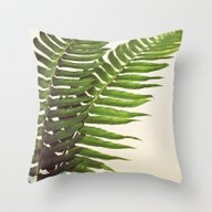 Ferns II Throw Pillow