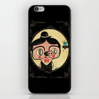 PIGnocchio and the blue fairy / pinocchio pig iPhone & iPod Skin