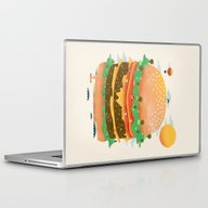 Burgerland Laptop & iPad Skin