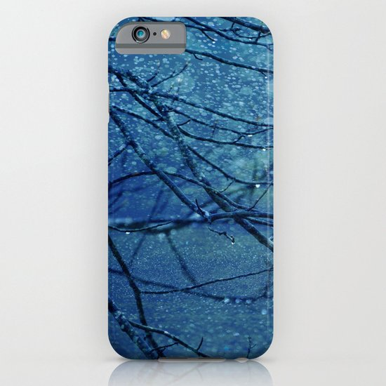 Rainy Day Blues iPhone & iPod Case
