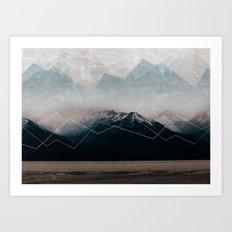 When Winter comes Art Print