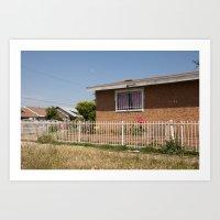 Compton. Art Print