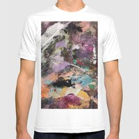 Painted Lady Mens Fitted Tee White SMALL