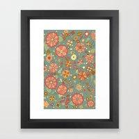 Mandarinas Framed Art Print