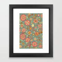 Mandarinas Framed Art Print