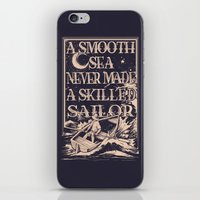 A Smooth Sea iPhone & iPod Skin