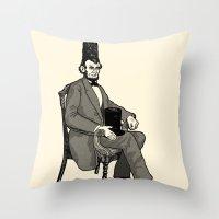 Hat Head Throw Pillow