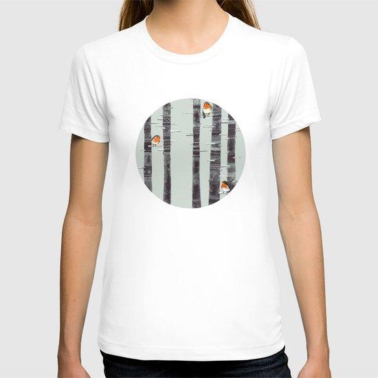 Robin Trees T-shirt