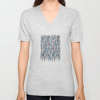 Autumn Lines Unisex V-Neck