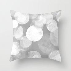 Confetti paint FOUR Throw Pillow