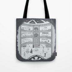 Darth Mall Tote Bag