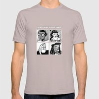 Blackwax Boulevard Album Cover  Mens Fitted Tee Cinder SMALL