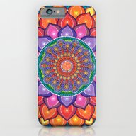 Lotus Rainbow Mandala iPhone 6 Slim Case