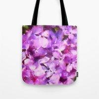 lilac love  Tote Bag