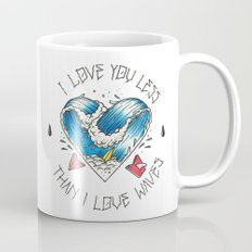 I love waves Mug