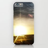 iPhone & iPod Case featuring Atardecer by Daniel Bastidas