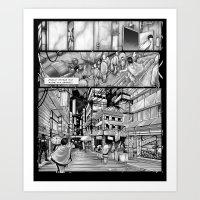 BounD: Issue 01 Page 10 Art Print