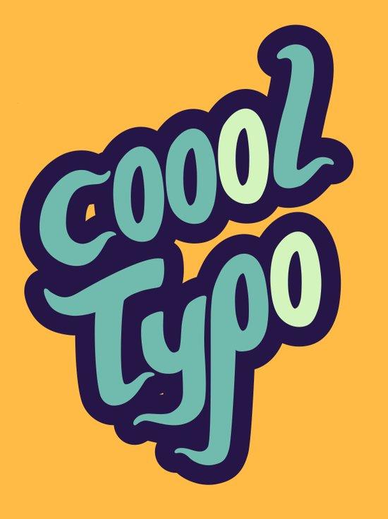 Coool Typo Art Print