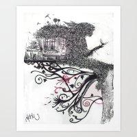 Imaginatĭo Art Print