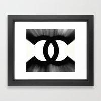 B&W Fashion C Framed Art Print