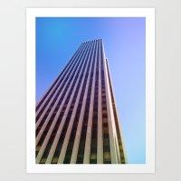 NYC: Architecture Art Print