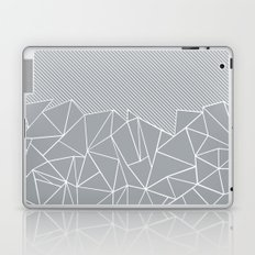 Ab Linear Grey Laptop & iPad Skin