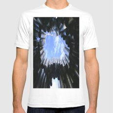 Pipes Mens Fitted Tee SMALL White