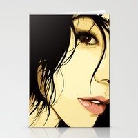 the tale of a girl Stationery Cards