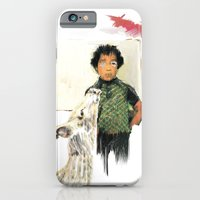 iPhone & iPod Case featuring A BOY IN THE WILD by nicholas colen