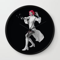 Princess Leia Strikes Back Wall Clock
