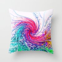True Colours Throw Pillow