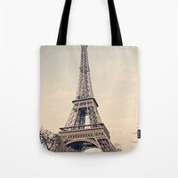 Tote Bag featuring Good Morning Paris by Msimioni
