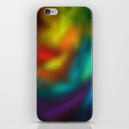 Color Mosaic iPhone & iPod Skin