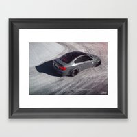Liberty Walk BMW M3 Framed Art Print